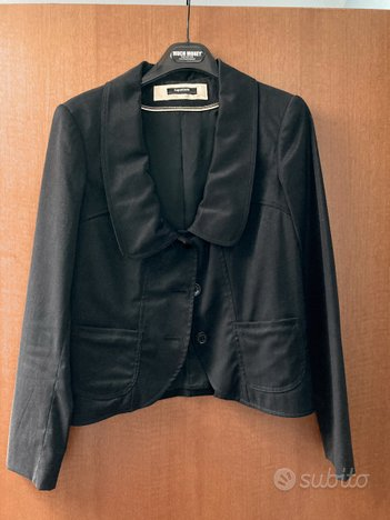 GIACCA blazer nero elegante da donna, LUPATTELLI