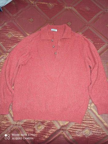Maglione lana rosso uomo Pal Zileri