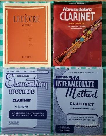 Metodi per clarinetto: Lefevre, Abracadabra