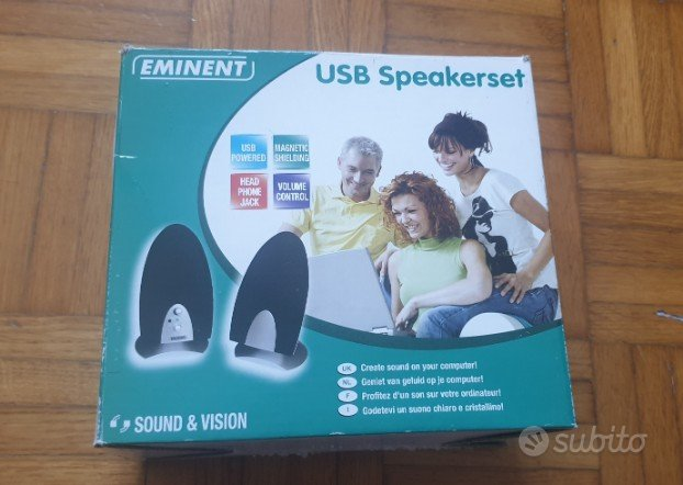 USB Speakerset altoparlante