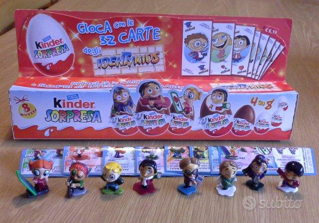 "Serie completa kinder ""IDENTYKIDS ""con scatola"