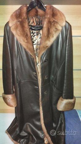 Cappotto donna visone