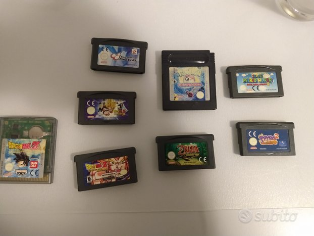 Lotto giochi assortiti gba e gbc nintendo