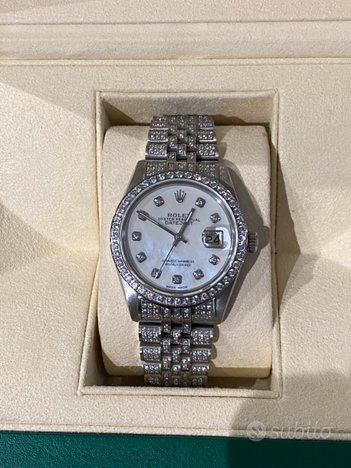 Rolex Datejust ice out