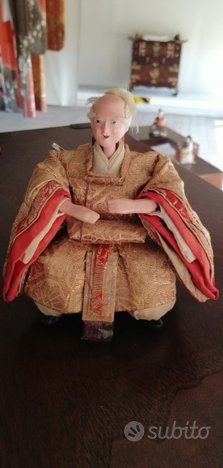 Kyo Ningyo Bambolina Vintage Giapponese 391A-215