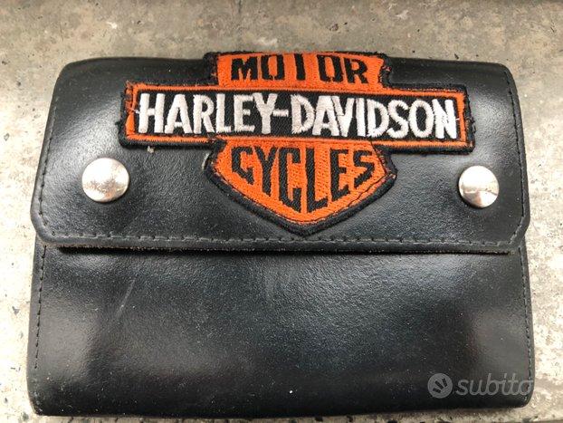 Portafoglio cuoio Harley Davidson