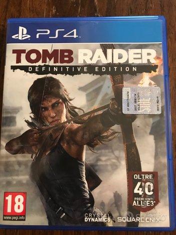 Tomb Raider definitive edition per PS4