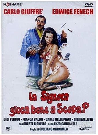 """DVD film """"La signora gioca bene a scopa"""" - Sexy"""