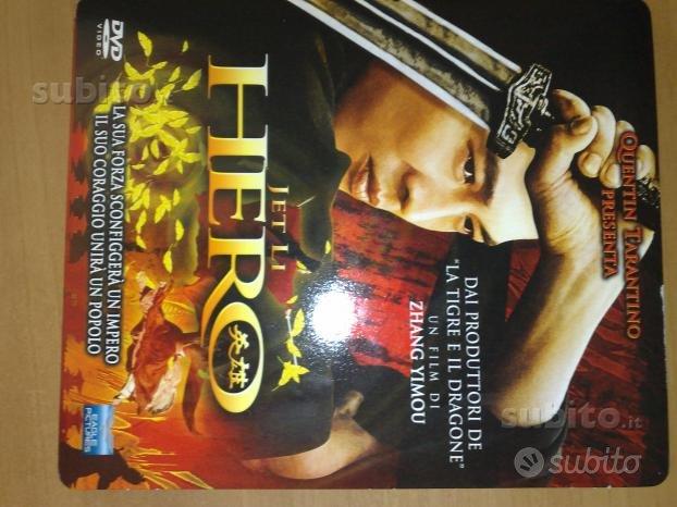 HERO Zhang Yimou Film DVD