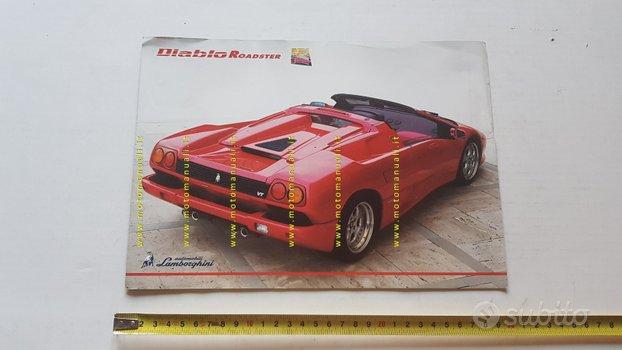 Lamborghini Diablo Roadster depliant originale