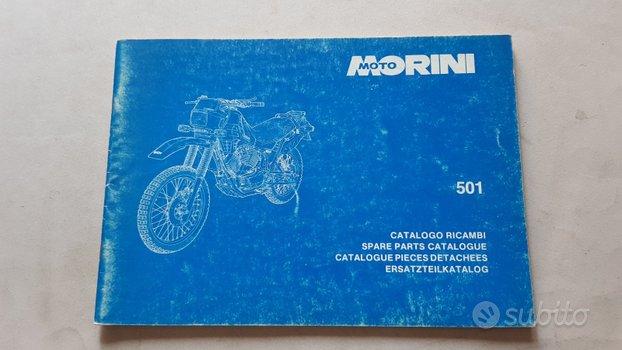 Moto Morini 501 Camel 1985 catalogo ricambi epoca
