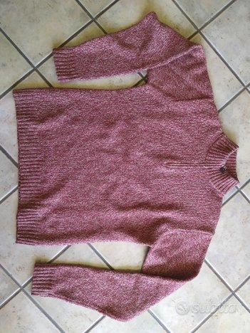 Maglione lana unisex con cerniera Seventy