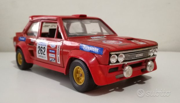 Bburago Fiat 131 Abarth Rally