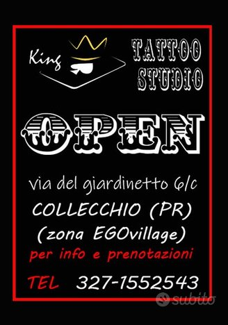 Tattoo studio a collecchio (pr)