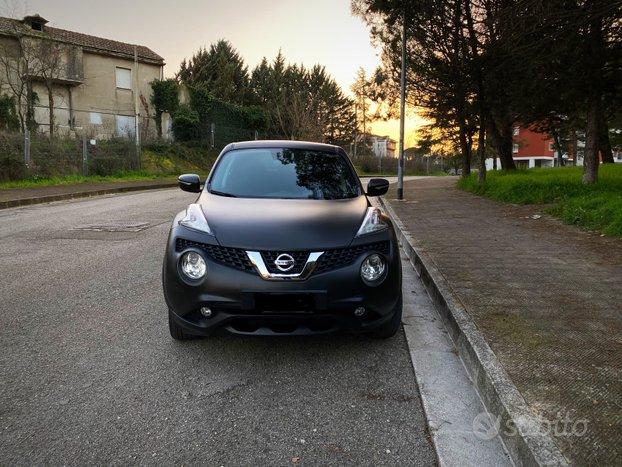 Nissan Juke Matt Black 1.6 Gpl Navi Camera Dab
