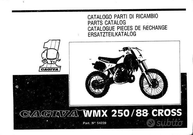 Manuale Officina e Parti di ricambio Cagiva wmx