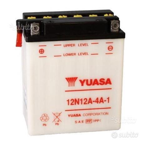 Batteria moto yuasa 12N12A-4A-1 CB 500 FOUR