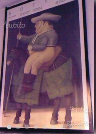 Botero fernando poster 1987