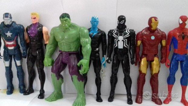 Avengers super eroi 30cm hulk iron man venom elect