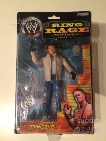 John Cena Ring Rage Con catena e parrucca