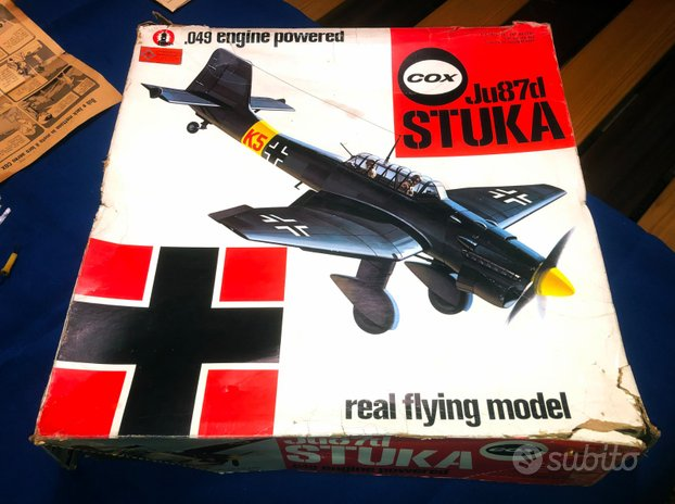 STUKA Ju87d .49 engine powered marca COX