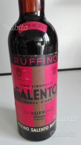 Bottiglia di Vecchio Salento da collezione