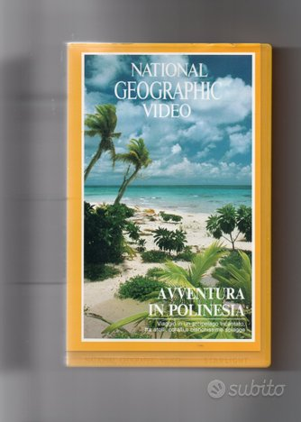 Avventura in Polinesia,VHS National Geographic