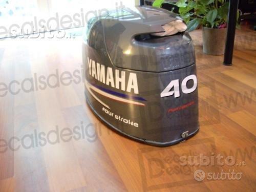 Kit di adesivi per motore yamaha 40 cv f40