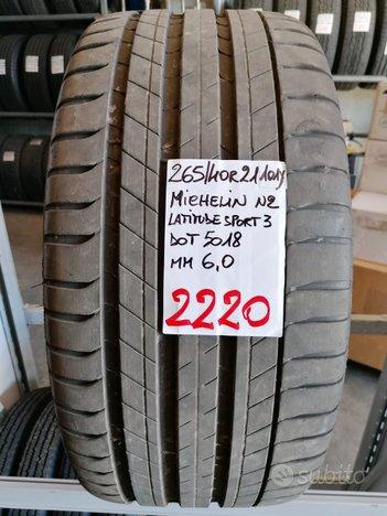 Rif.2220 1 pneumatico usato 265/40 r21 michelin