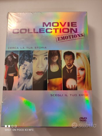 Cofanetto 6 film emotions nuovo