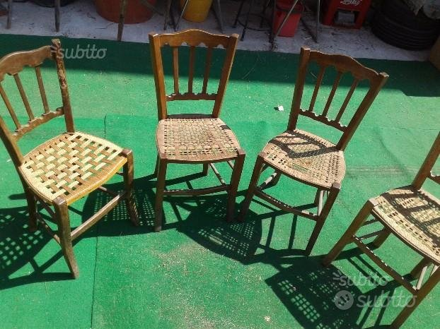 , sedie poltrone antiche siciliane