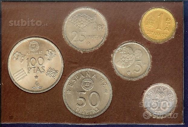 SPAGNA 1980 Serie Numismatica Monete