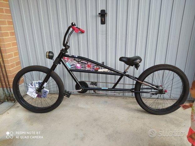 Bici stretch cruiser Felt chopper limo