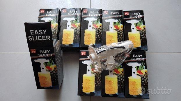 9pz lotto stock sbuccia affetta ananas nuovi