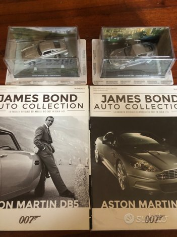 James Bond Auto Collection - primi 14 n