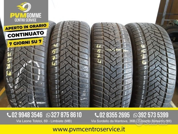 Gomme usate 205 55 16 91h dunlop inv