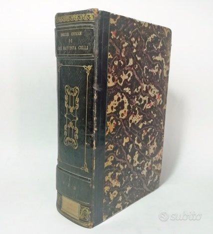 1804-1807 - delle opere di gio. battista gelli