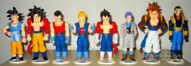 9 Action Figures Dragon Ball GT/Lupin III