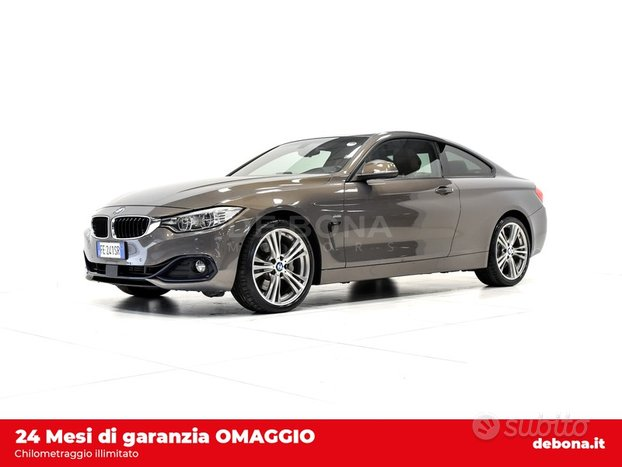 BMW Serie 4 435dA Coupe xdrive Sport my15