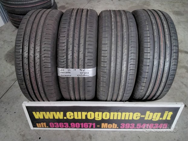 Gomme usate continental 215 55 17 94v estive