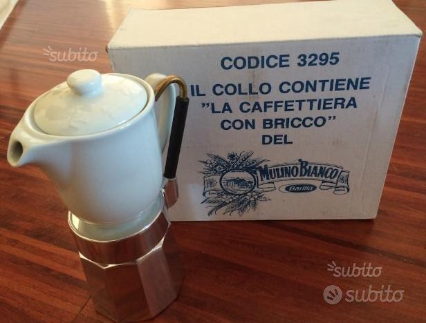 Caffettiera con bricco mulino bianco