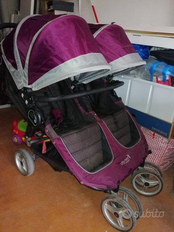 Baby jogger city mini gemellare