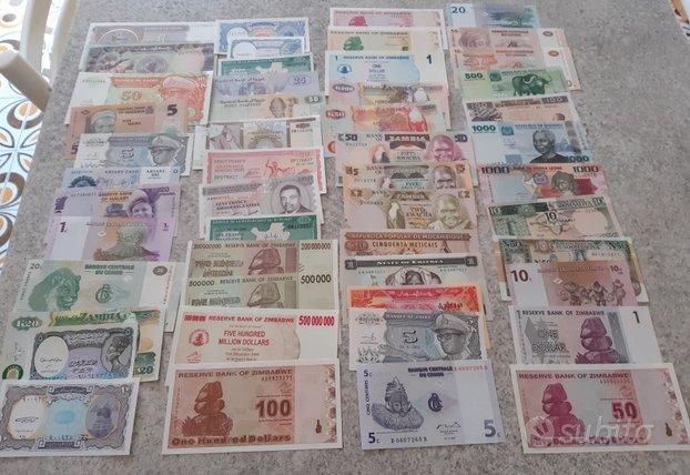 Banconote africa 50 differenti nuove-fds