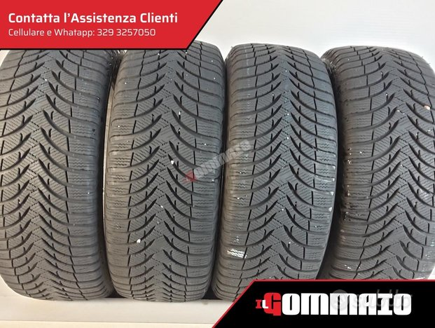 Gomme usate M 185 65 R 15 MICHELIN INVERNALI