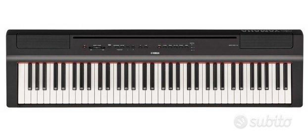 Pianoforte Digitale 88 Tasti Pesati Yamaha P121B