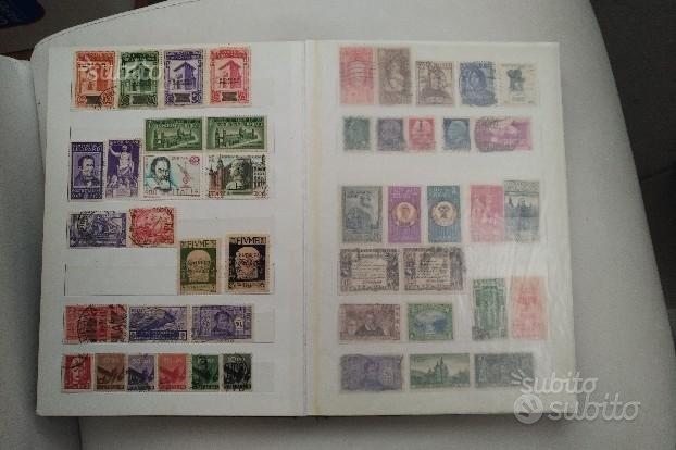 Album di francobolli, collezione, italiani
