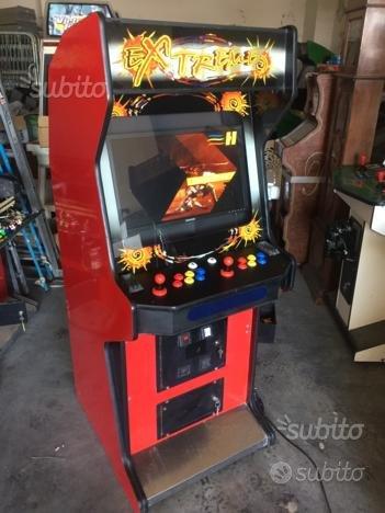Videogioco cabinato da Bar arcade vintage