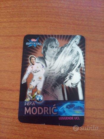 Topps crystal Champions Luka Modric