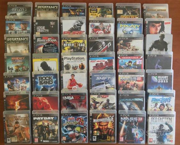 Lotto 60 videogiochi Sony playstation 3 ps3 #MNO