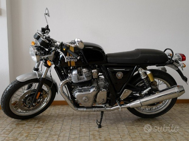 Royal Enfield Continental GT 650 nero PROMO 04/21
